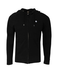 Pretty Green Mens Black Oxted Hoody