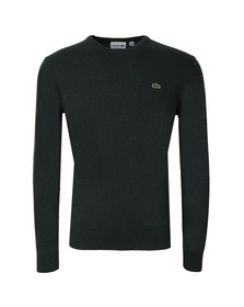 Lacoste Mens Green New Wool AH2995 Crew Neck Jumper
