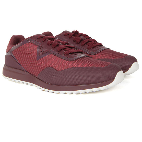 Diesel Mens Red Swifter Trainer main image