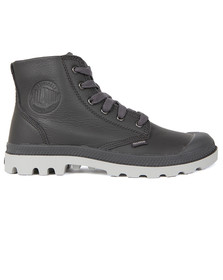 Palladium Mens Grey Pampa Hi VL Boot