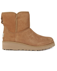 Ugg Womens Brown Kirstin Ankle Boot