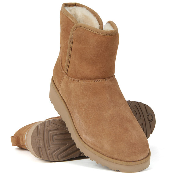 Ugg Womens Brown Kirstin Ankle Boot main image