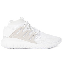 Adidas Originals Mens White Tubular Nova Trainer