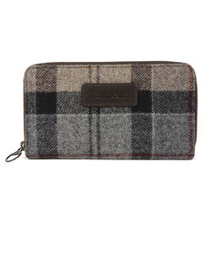 Barbour Lifestyle Womens Multicoloured Wool Tartan Purse