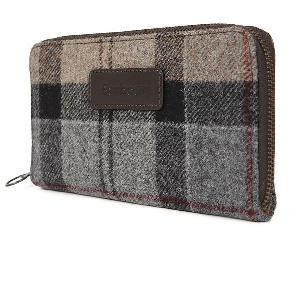Barbour Lifestyle Womens Multicoloured Wool Tartan Purse main image