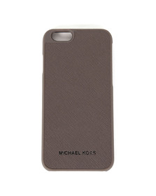 Michael Kors Womens Grey Saffiano iPhone 6 Cover
