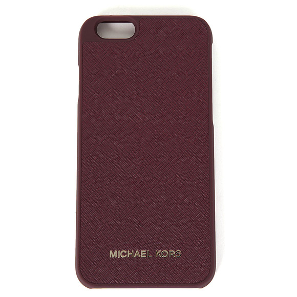 Michael Kors Womens Purple Saffiano iPhone 6 Cover  main image