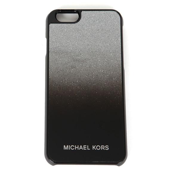 Michael Kors Womens Black iPhone 6 Cover main image