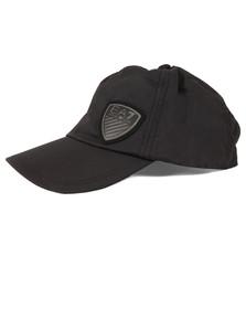 EA7 Emporio Armani Mens Black Shield Logo Cap