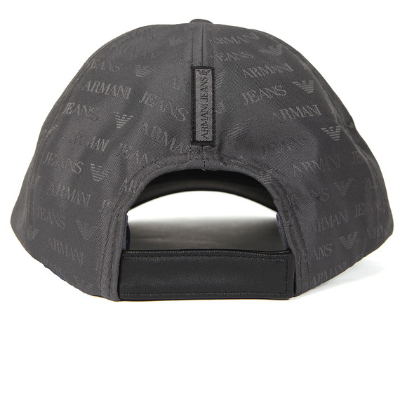 Armani Jeans Mens Grey Allover Logo Cap main image