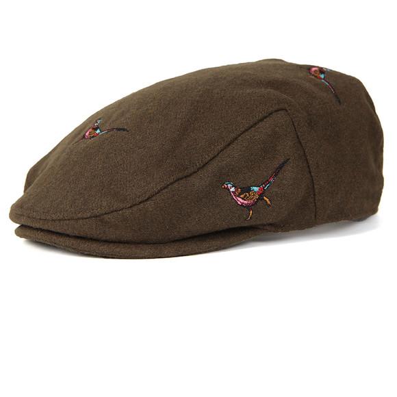 Barbour Lifestyle Mens Green Pheasant Flat Cap main image 4541bf0eae50
