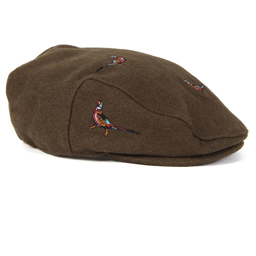 Barbour Lifestyle Pheasant Flat Cap  ed76819deefc