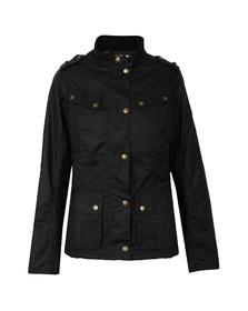 Barbour International Womens Blue Caster Wax Jacket