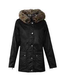 Barbour International Womens Black Turini Wax Jacket