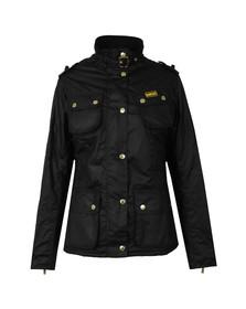 Barbour International Womens Black Fins Wax Jacket