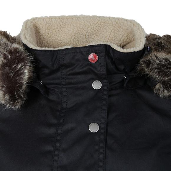 Barbour Lifestyle Womens Blue Crevasse Wax Jacket main image