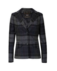 Barbour Lifestyle Womens Blue Beaman Tailored Jacket