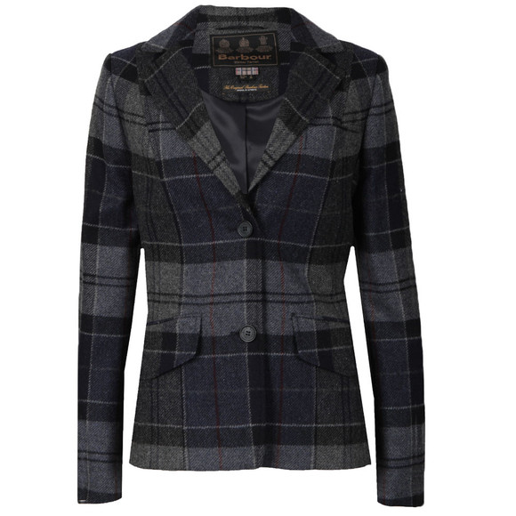 Barbour Lifestyle Womens Blue Beaman Tailored Jacket main image