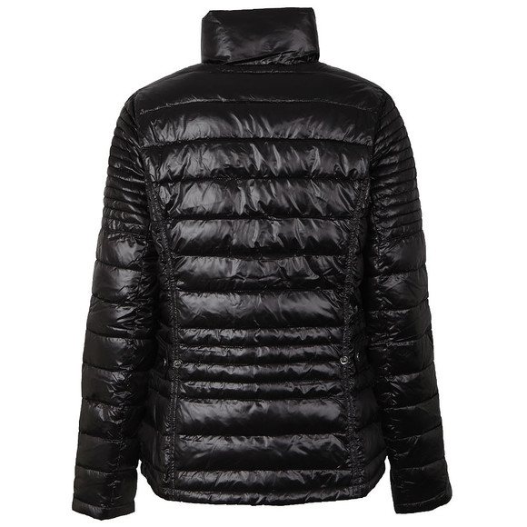 Barbour International Womens Black Camber Baffle Quilted Jacket main image