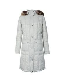 Barbour Lifestyle Womens Off-white Icefield Quilted Jacket