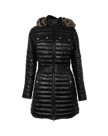 Barbour International Womens Black Endo Baffle Quilt Jacket