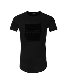 Defend London Mens Black Cambridge T Shirt
