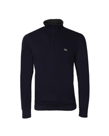 Lacoste Mens Blue 1/2 Zip Sweat