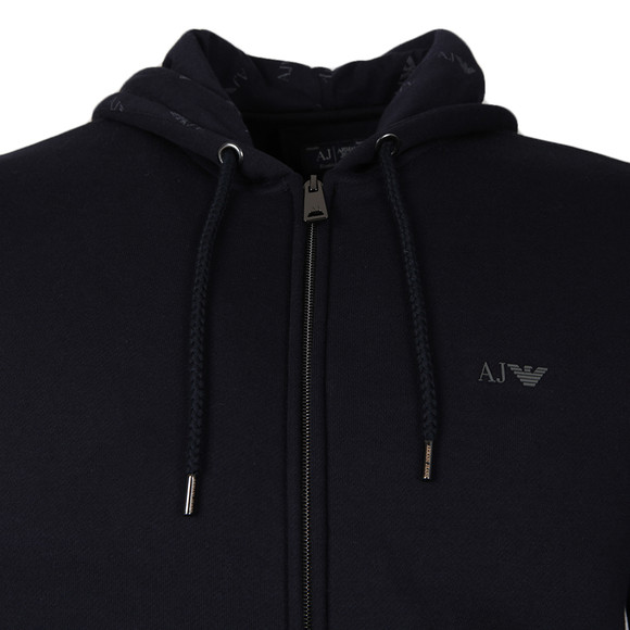 Armani Jeans Mens Blue 8N6M01 Full Zip Hoody main image