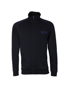Boss Mens Blue Full Zip Sweat Jacket