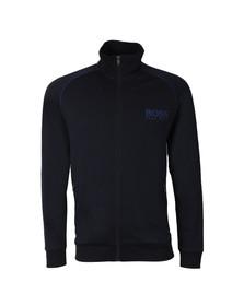 Boss Mens Blue Full Zip Sweat Jacket