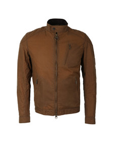 Barbour International Mens Brown Winter Sprocket Wax Jacket