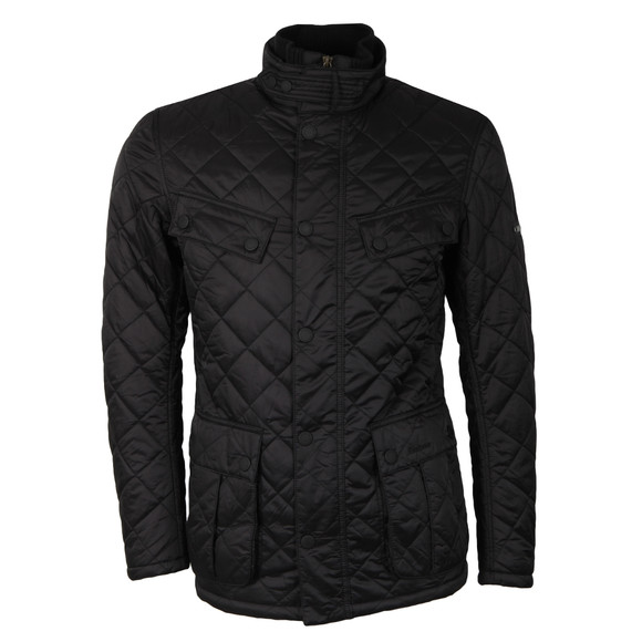 Barbour International Mens Black Windshield Jacket main image