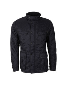 Barbour International Mens Blue Ariel Polarquilt Jacket
