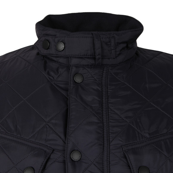 Barbour International Mens Blue Ariel Polarquilt Jacket main image