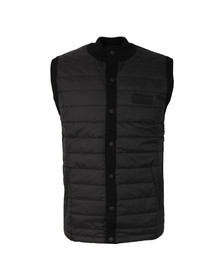 Barbour International Mens Black Baffle Gilet