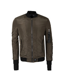 Sixth June Mens Green Bomber Jacket