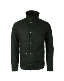 Barbour Heritage Mens Green Reelin Wax Jacket