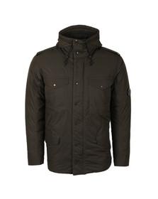 CP Company Mens Green 4 Pocket Hooded Padded Jacket