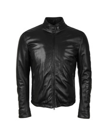 Matchless Mens Black Johnny Leather Blouson