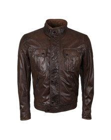 Matchless Mens Brown Mick Leather Blouson