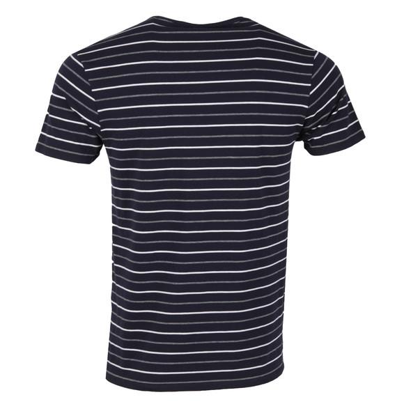 Scotch & Soda Mens Blue Striped T Shirt main image