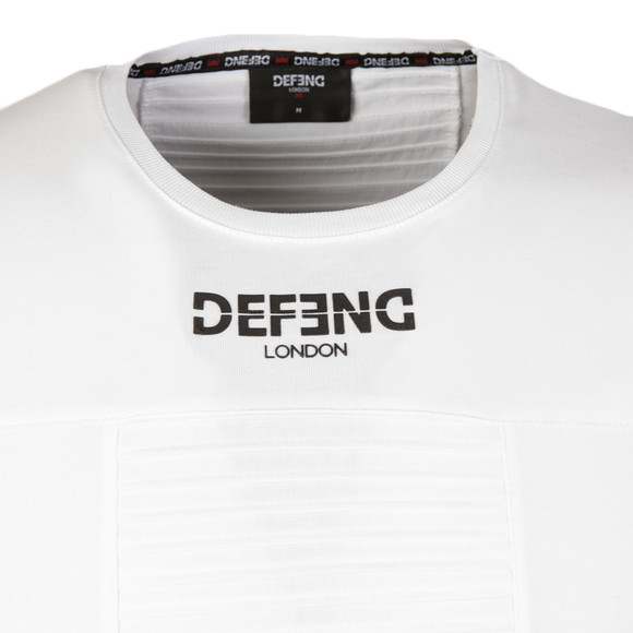 Defend London Mens White Hoorgate T Shirt main image