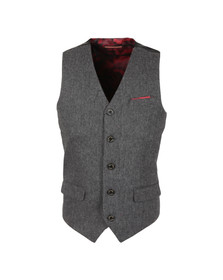 Luke Mens Grey Maxfields Waist Coat