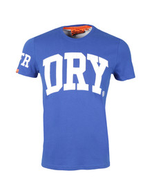 Superdry Mens Blue S/S Big Entry Tee