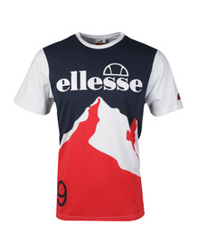 Ellesse Mens White Cervinia T Shirt