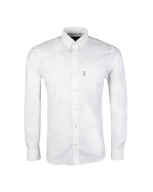 Aquascutum Mens White Ashford Oxford Shirt