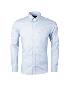 Aquascutum Mens Blue Ashford Oxford Shirt