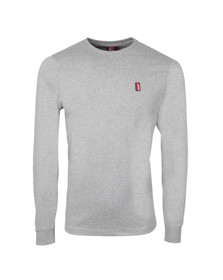 Ellesse Penguin Mens Grey Ettore Long Sleeve T Shirt