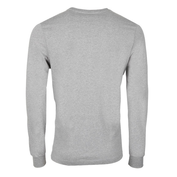 Ellesse Penguin Mens Grey Ettore Long Sleeve T Shirt main image