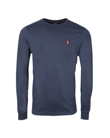 Ellesse Penguin Mens Blue Ettore Long Sleeve T Shirt